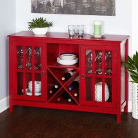 Buffets And Sideboards Dry Bar Wine Cabinet Table With ...