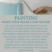 Tricks for painting rooms | Future house, yes please ...