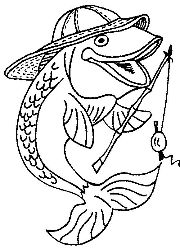 Fish Coloring Pages Free Download http://procoloring.com