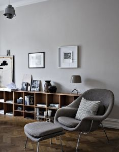 About the product womb chair  ottoman by barcelona designs originally designed eero saarinen continues to be one of most recognized also muoti mielessa home interior inspiration pinterest interiors rh