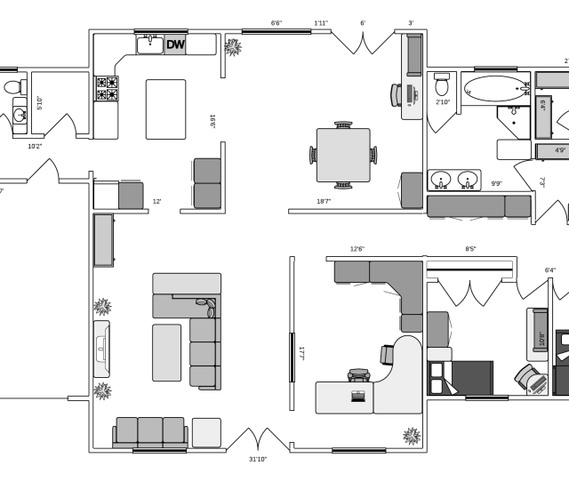Ranch House Plan Free To Use And Customizable