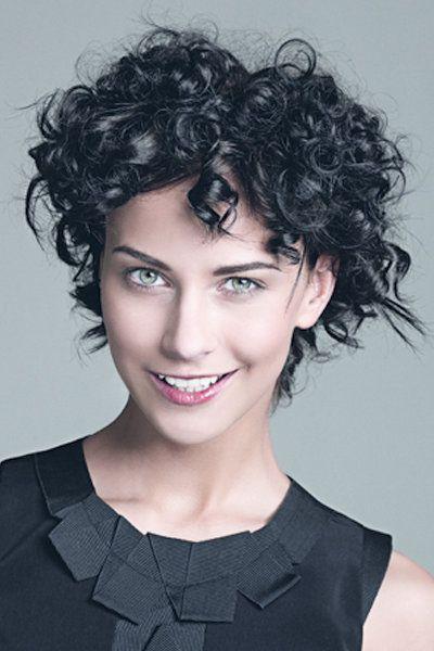 Kurze Frisuren Für Lockiges Haar 2015 Kurzhaarfrisuren Für