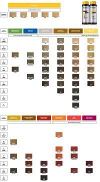 Redken Color Gels Color Chart | Color charts | Pinterest ...