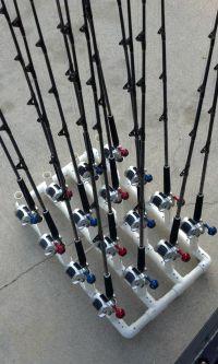 PVC fishing rod holder ideas... | Fish | Pinterest |  ...