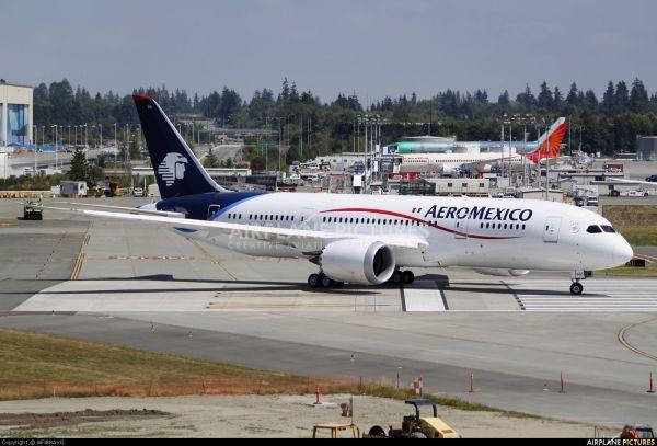 AeroMexico Boeing 787 AeroMexico Pinterest