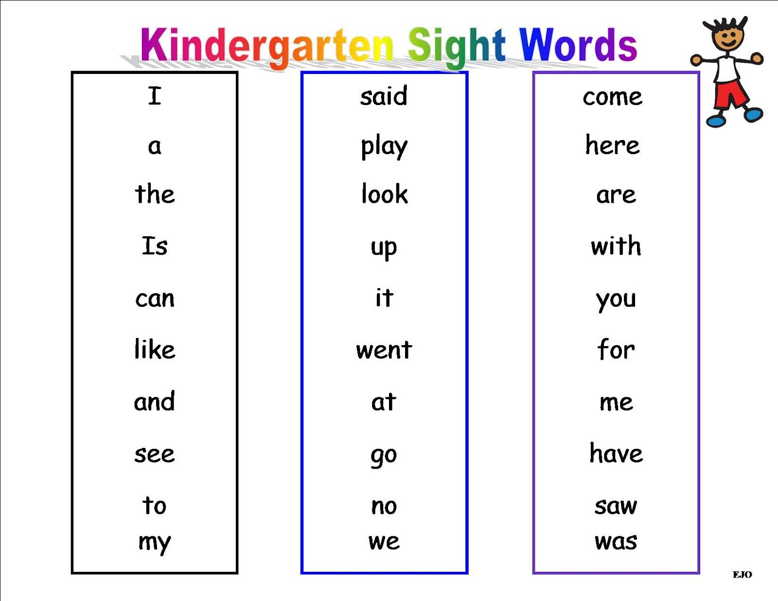 Journey S Sight Words