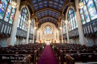 gorgeous church, nave, stained glass windows, church ...