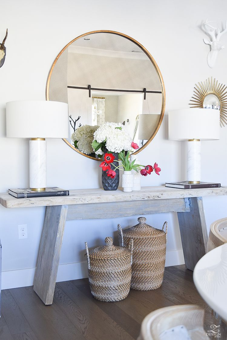 make a rustic sofa table versailles top 5 tips for making your home feel cozy and inviting ...