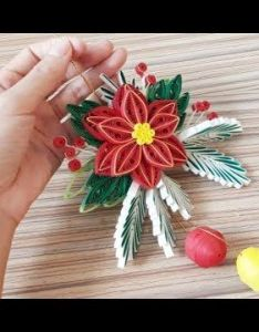 Quilling of christmas ideas card easy  simple design youtube also rh pinterest