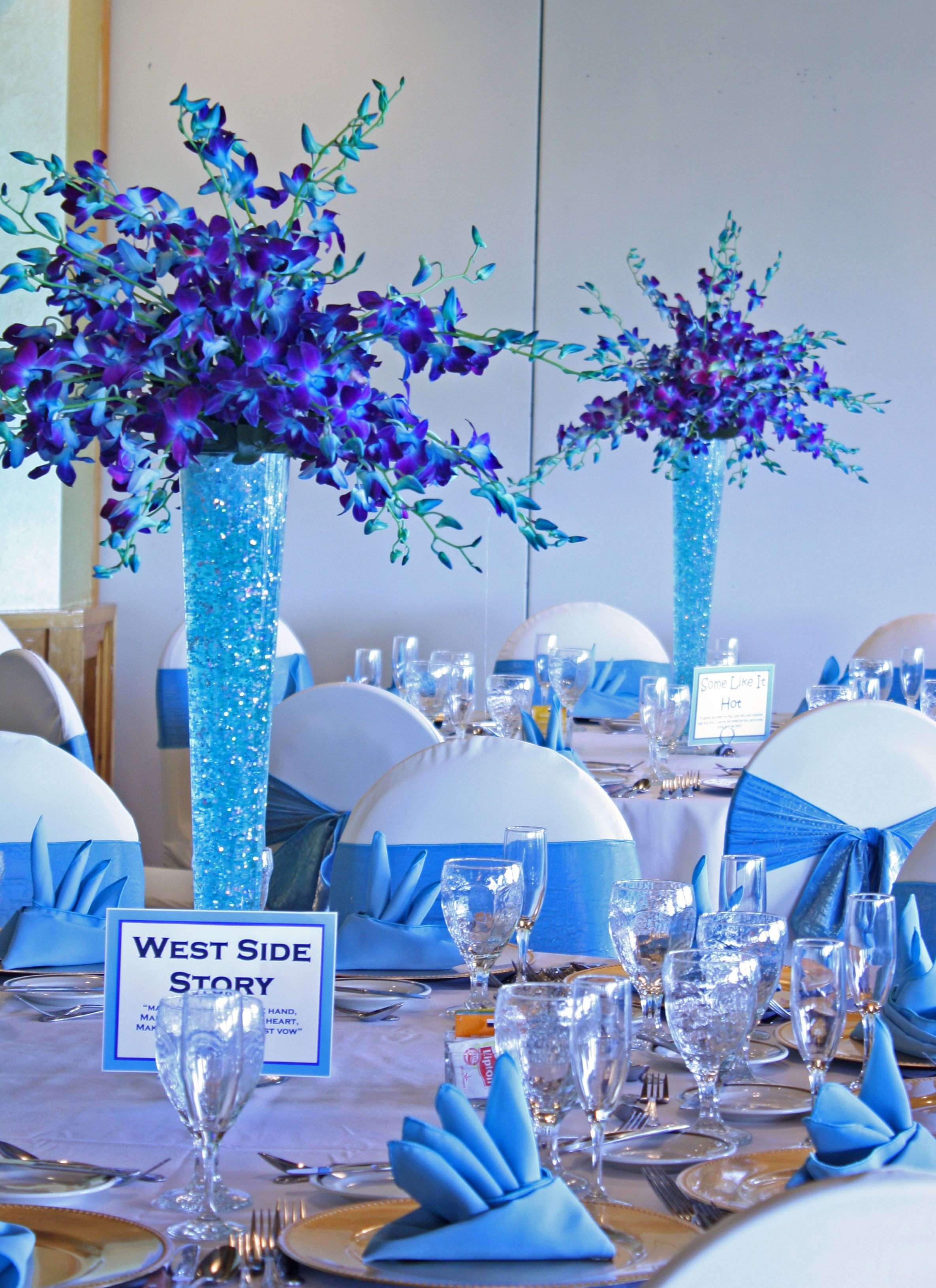 teal blue chair sashes commercial pool chaise lounge chairs turquoise, & purple, perfect together! | weddings pinterest centerpieces and ...