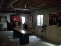 Man cave, unfinished basement | Inspirational DIY projects ...