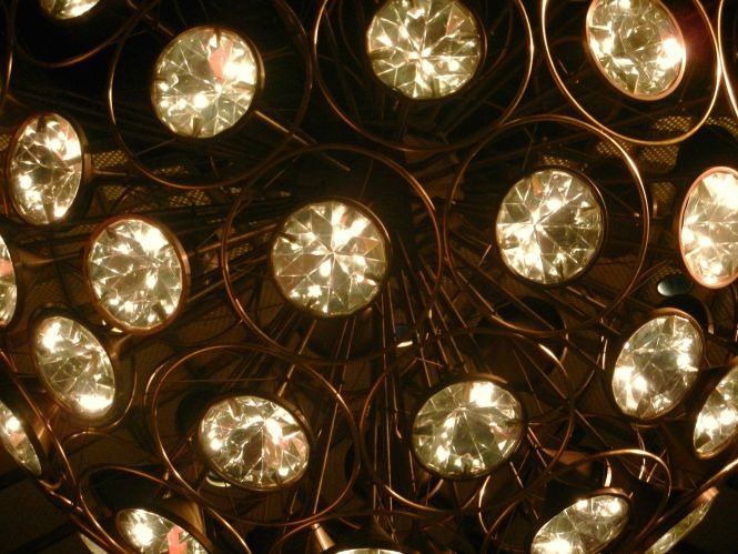 Close Up Of Chandelier From Koch Theater Home Nyc Ballet At Lincoln
