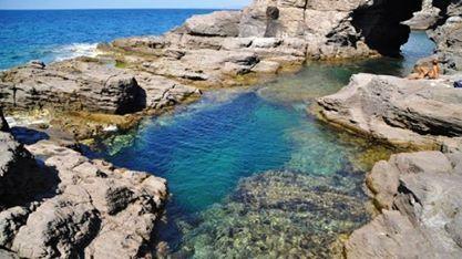 Piscina naturale di Is Praneddas  SantAntioco  Sardegna  photos  videos  Pinterest