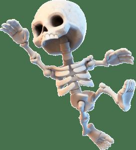 Esqueleto Clash Royale 273x300png 273300 Pxeles
