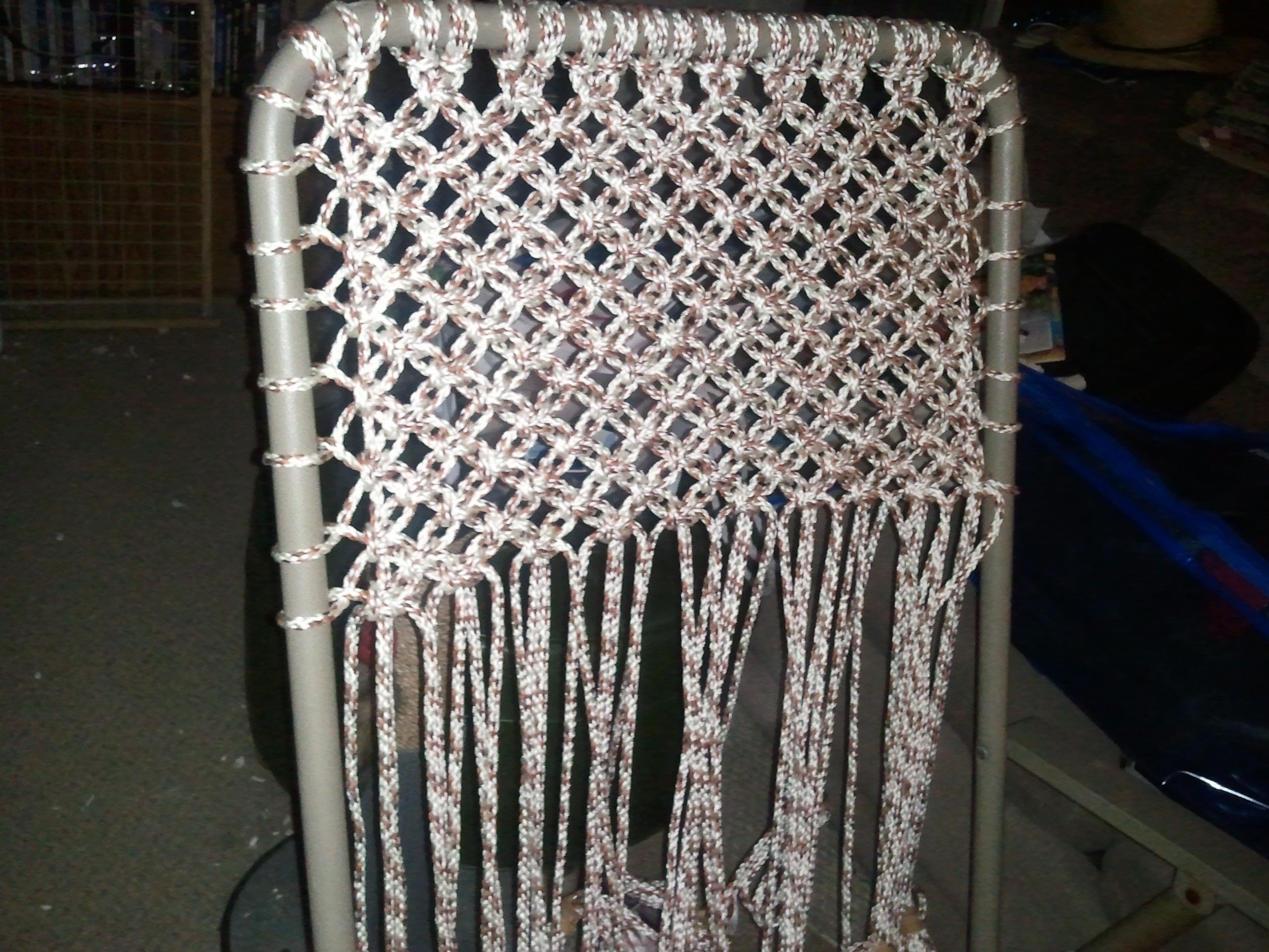 how to tie a slip knot chair sash antique wooden barber macrame lawn alternating square knots couldn 39t