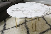 DIY MARBLE TOP COFFEE TABLE - withHEART Love this simple ...