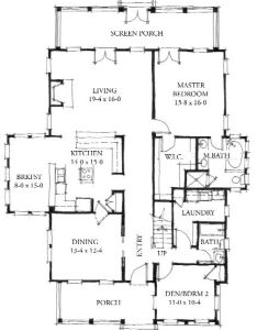 Allison ramsey architects floorplan for the eden square foot house plan  also wb stunning contemporary plans home rh pinterest