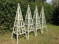 Wooden Obelisk & Painted Garden Obelisks Gallery | Garden ...