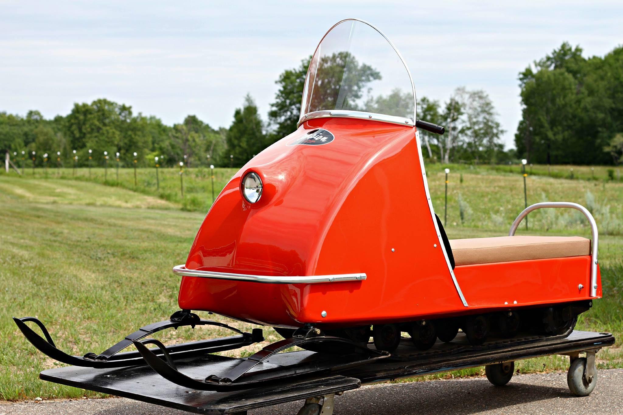 1969 Scorpion Stinger Snowmobile