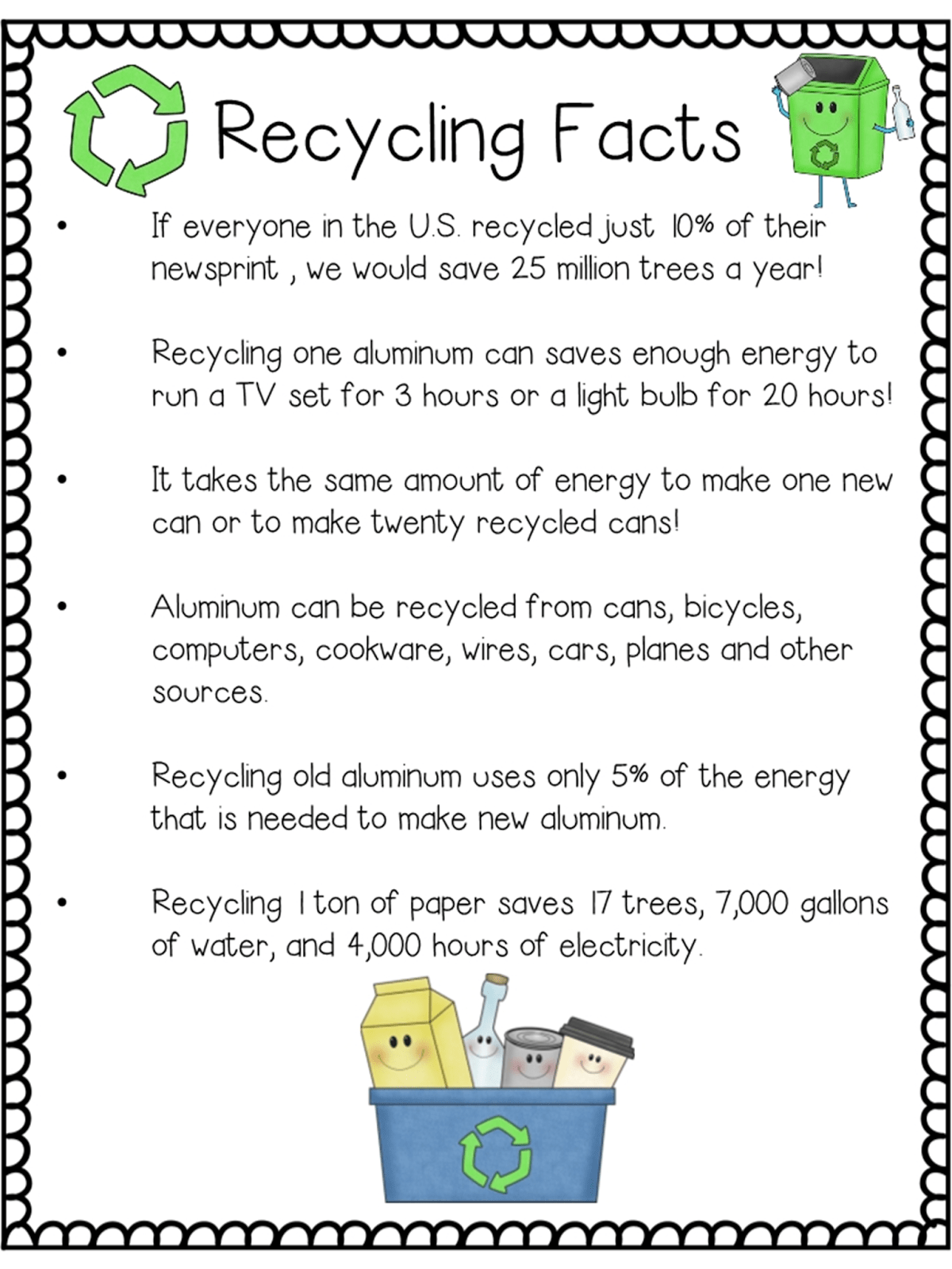Earth Day Recycling Closeread