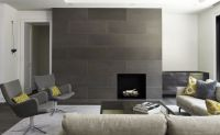 Exceptional Modern Fireplace Tile #12 Modern Tile Around ...