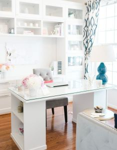 Simplicity series lacoya heggie all white roomwhite roomshome office designoffice also beautiful and the  rh za pinterest