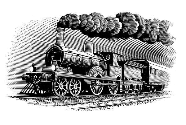 Resultado De Steam Train Illustrations