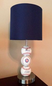 Chicago Cubs Baseball Lamp www.etsy.com/listing/188785651