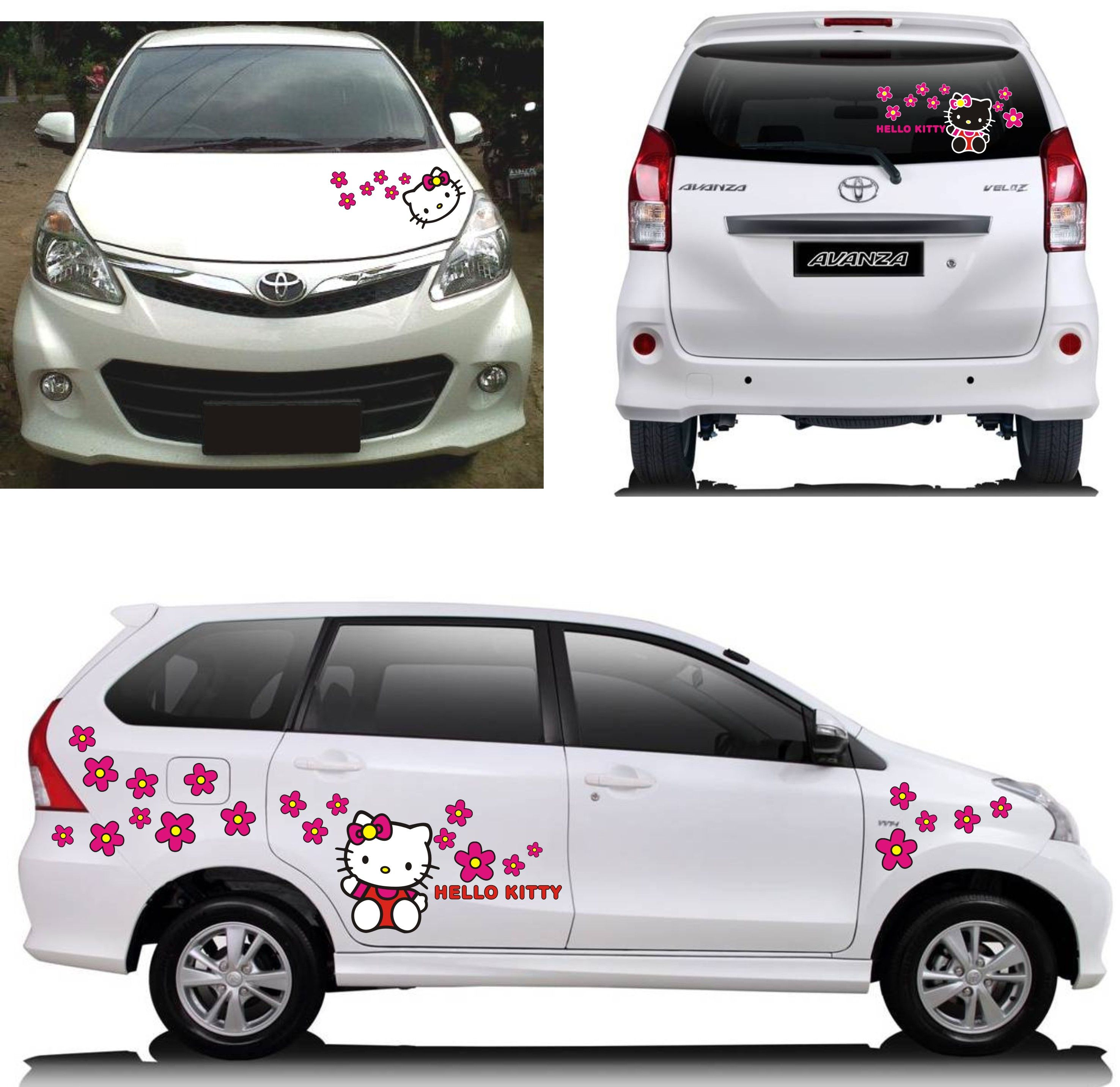 Toyota Avanza Veloz  Hello Kitty Sticker Concept