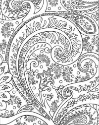 Coloring Pages For Adults Abstract http://procoloring.com ...