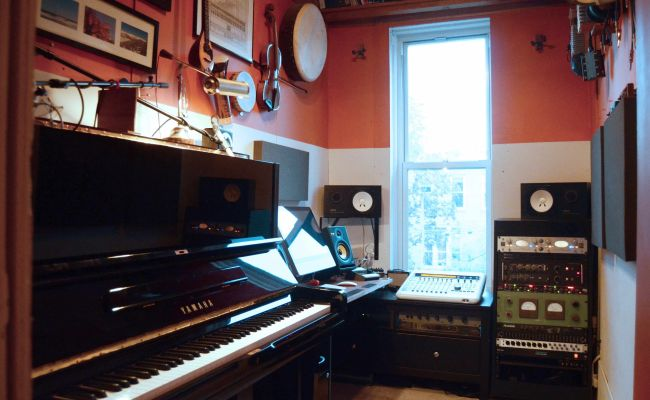 A Professional Recording Studio In An Unbelievably Tiny