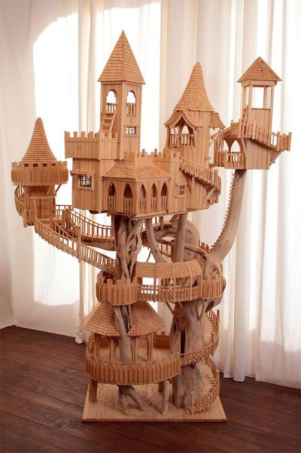 Rob Heard Wooden Unique Art Sculptures