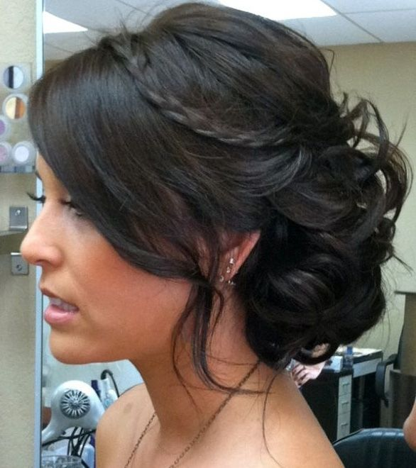 Updo Hairstyles For Medium Hair Trends In 2013 Pictures Pretty
