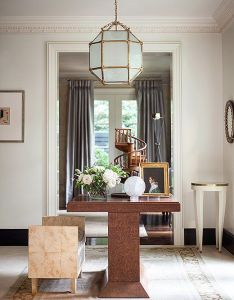 House tour suzanne kasler design chic also tours foyers and rh za pinterest