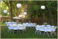 cheap backyard wedding decoration ideas retrosonik cheap ...