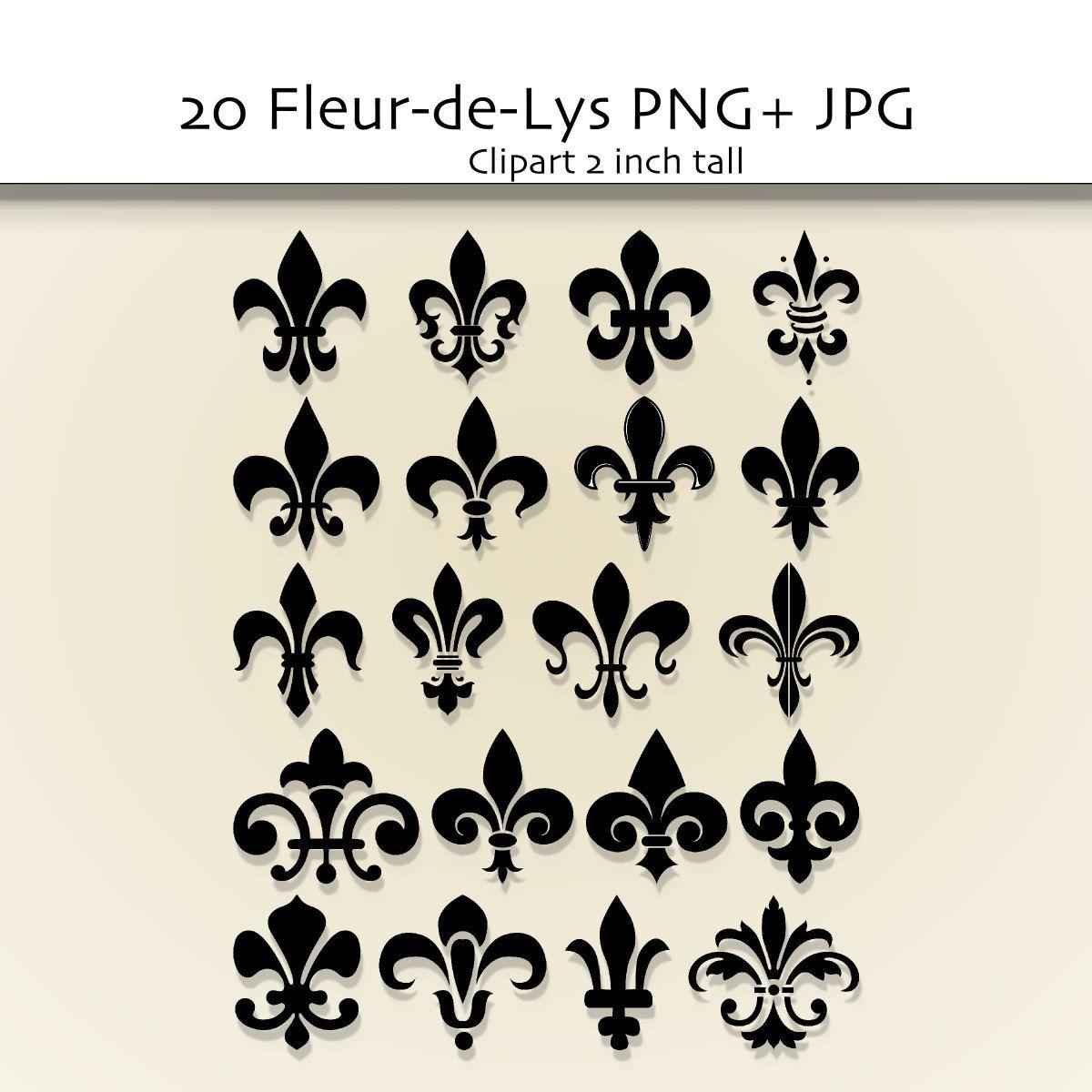 hight resolution of fleur de lis clip art google search