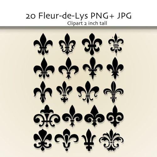 small resolution of fleur de lis clip art google search