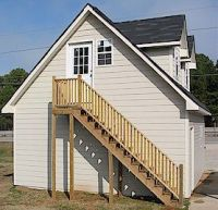 Eagle Ridge 2-story garage with outside stairs   For the ...