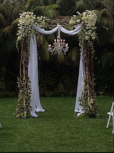 Wedding Arch Chandelier