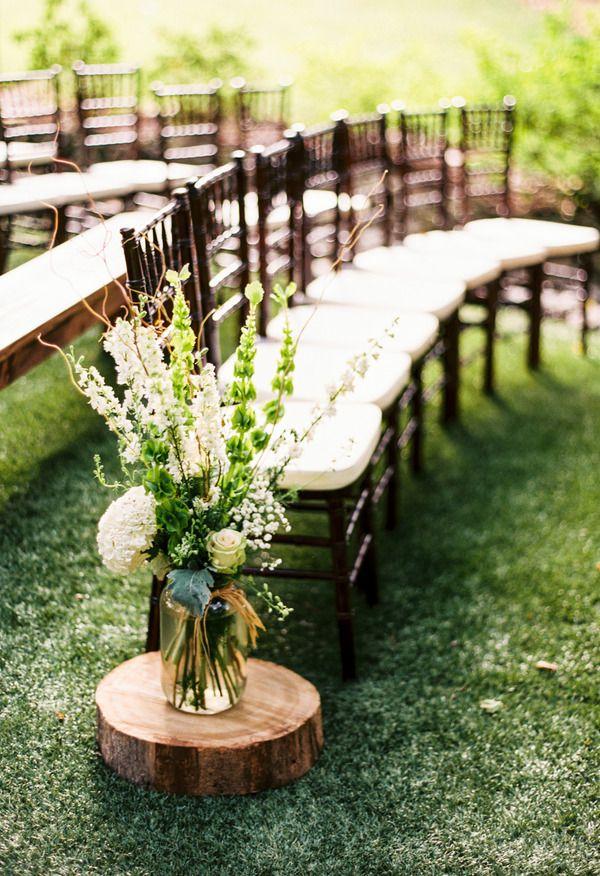 Country Wedding Isle Decor