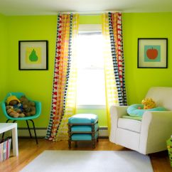 Lime Green Sofa Living Room Ideas Lazy Boy Leather Repair Modern Wall Color Love This Idea