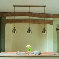 This triple #pendant light is perfect for over a breakfast ...