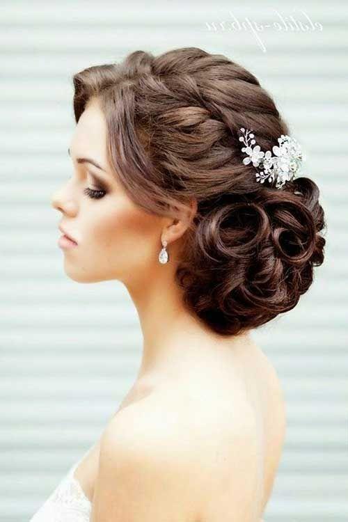 Elegant Wedding Hair Updo Coiffure Pinterest Chignon