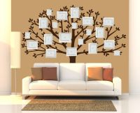 Family Tree Wall Decal, Large Tree Decals, Photo, Memories ...