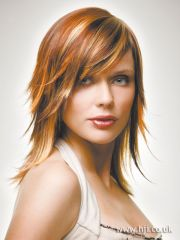 hairstyles redheads with highlights