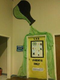 Craft Lab Agency D3 door decorations | Mad Science ...