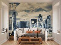 ohpopsi London City Skyline Wall Mural: Amazon.co.uk ...