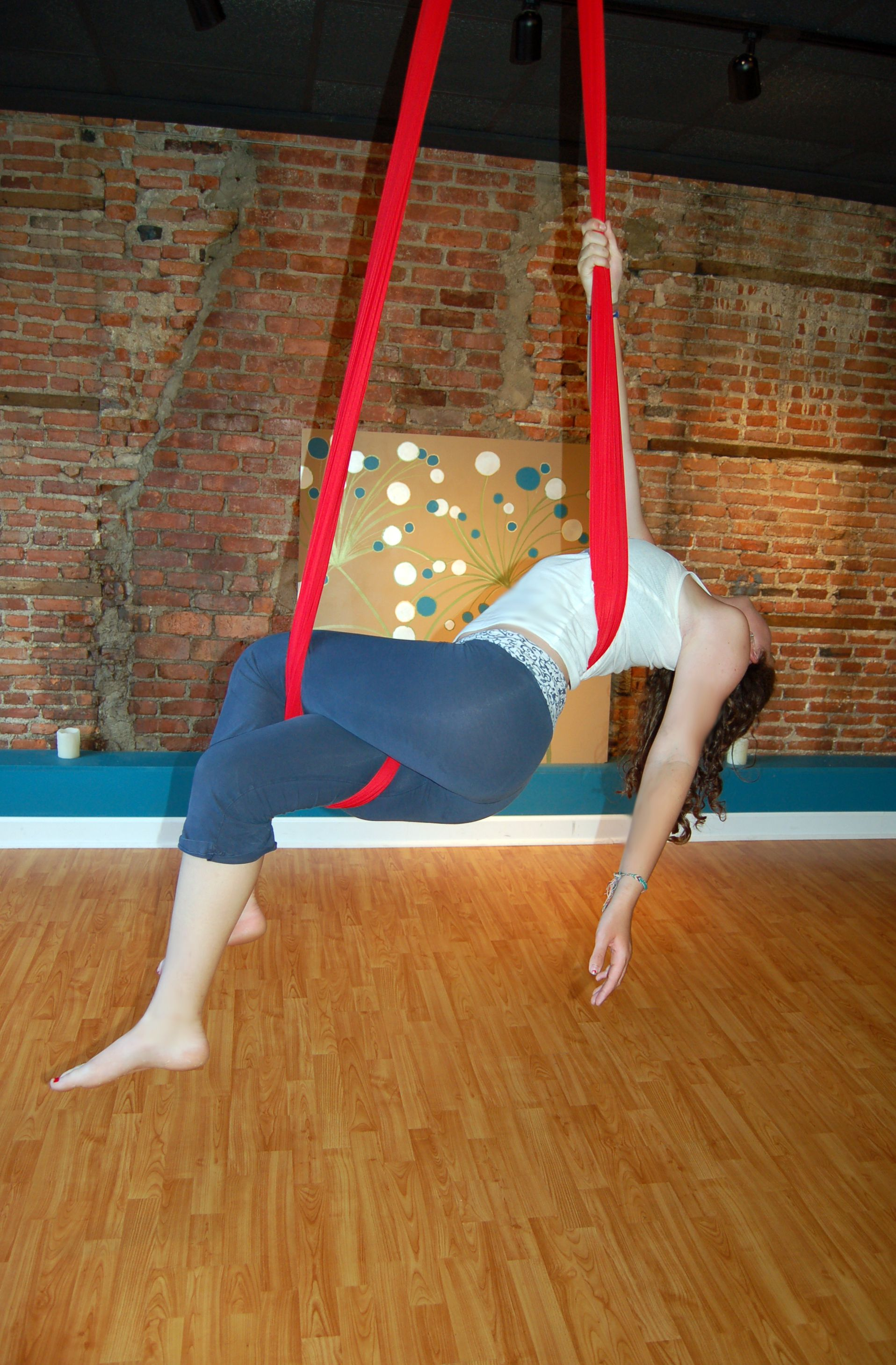 Aerial Sling Aerial Hammock Moves The Faint