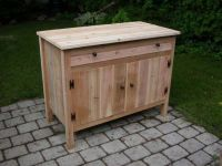 wooden outdoor cabinet for patio