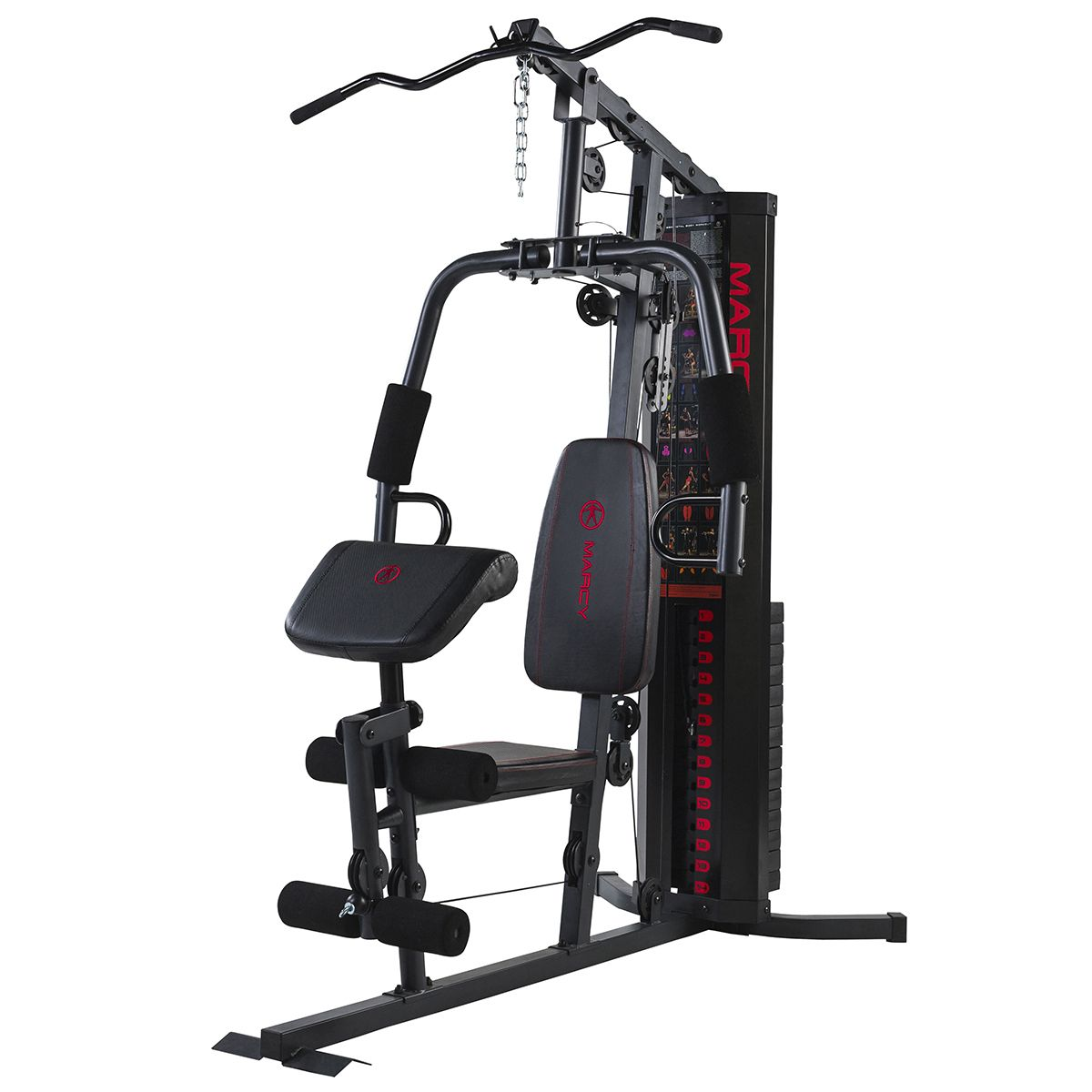 gym chest chair children s seat height marcy eclipse hg3000 compact home lat pulldown